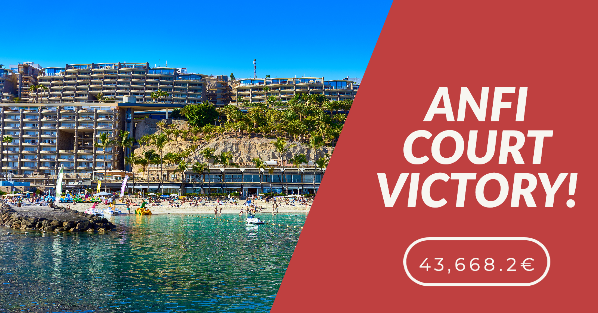DOUBLE ANFI VICTORY – 43,668.2€ AWARDED