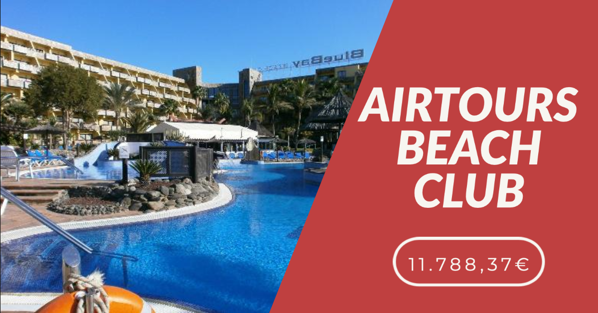 AIRTOURS BEACH CLUB FIRST INSTANCE COURT VICTORY 11.788,37€