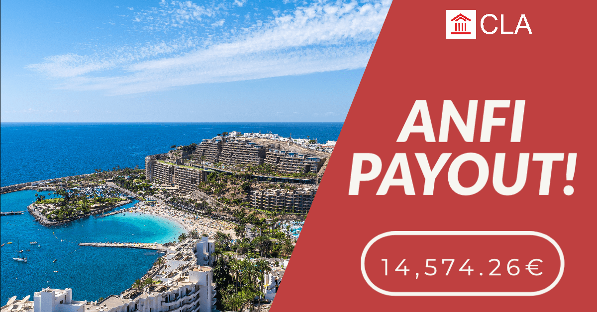 ANFI PAYOUT! 14,574.26€ TAX REFUND DUE TO ANFI SEIZED.