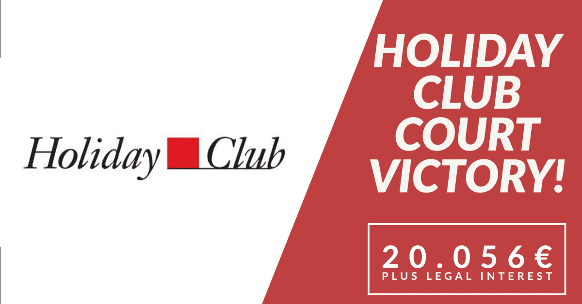 HOLIDAY CLUB VICTORY 20.056€