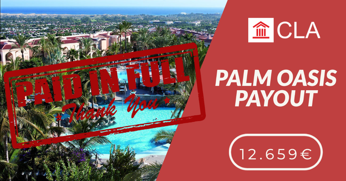 PALM OASIS PAYOUT